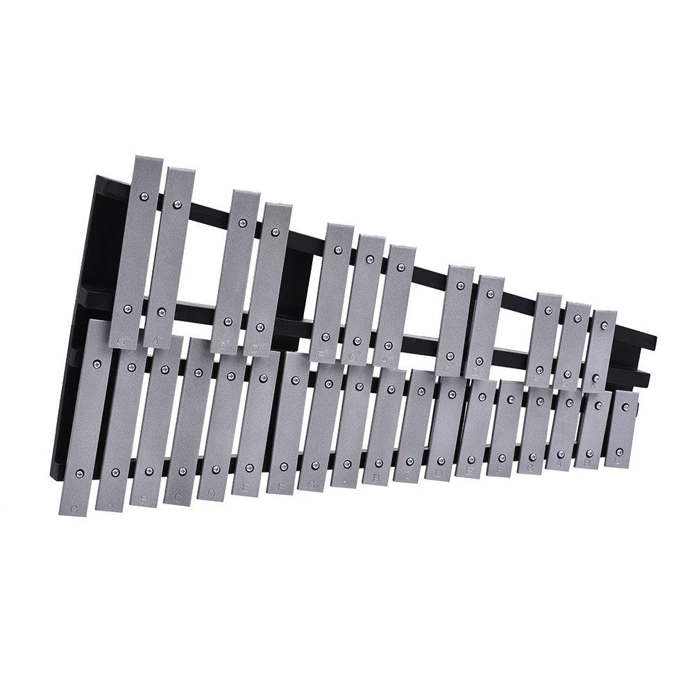 Xilófono Plegable - Marco de Madera Barras de Aluminio