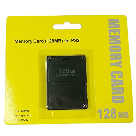 SEN Tarjeta de Memoria Ps2 Nueva Tarjeta de Memoria 64M128M ...
