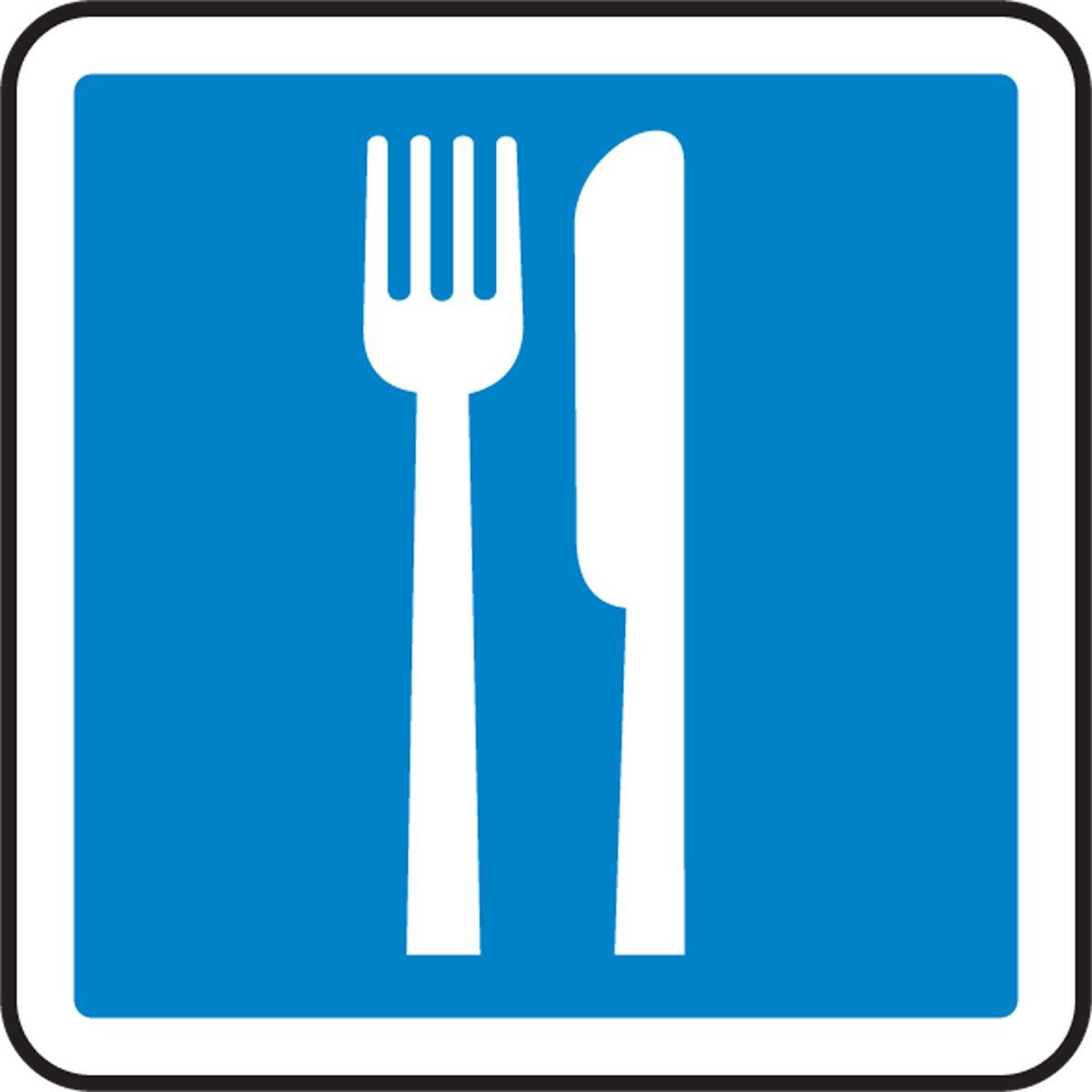 Accuform Restaurant Graphic (MPCS592VA)