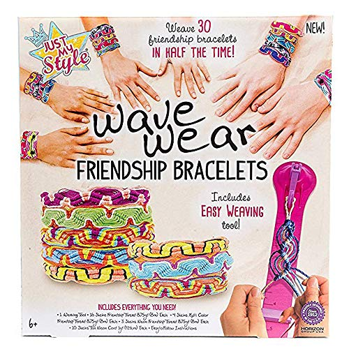 Just My Style Wave Wear Friendship Bracelet Making - Wheel Friendship Alex