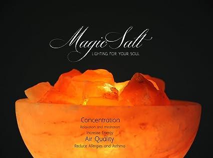 Magic Salt Lighting For Your Soul Lampe En Sel De L Himalaya Avec