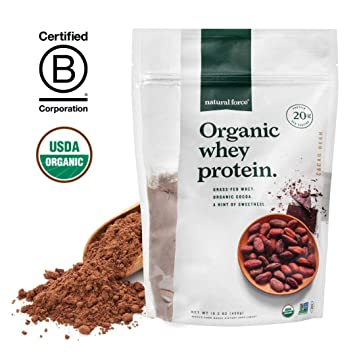 Amazon.com: Natural Force® Proteína de suero de leche en ...