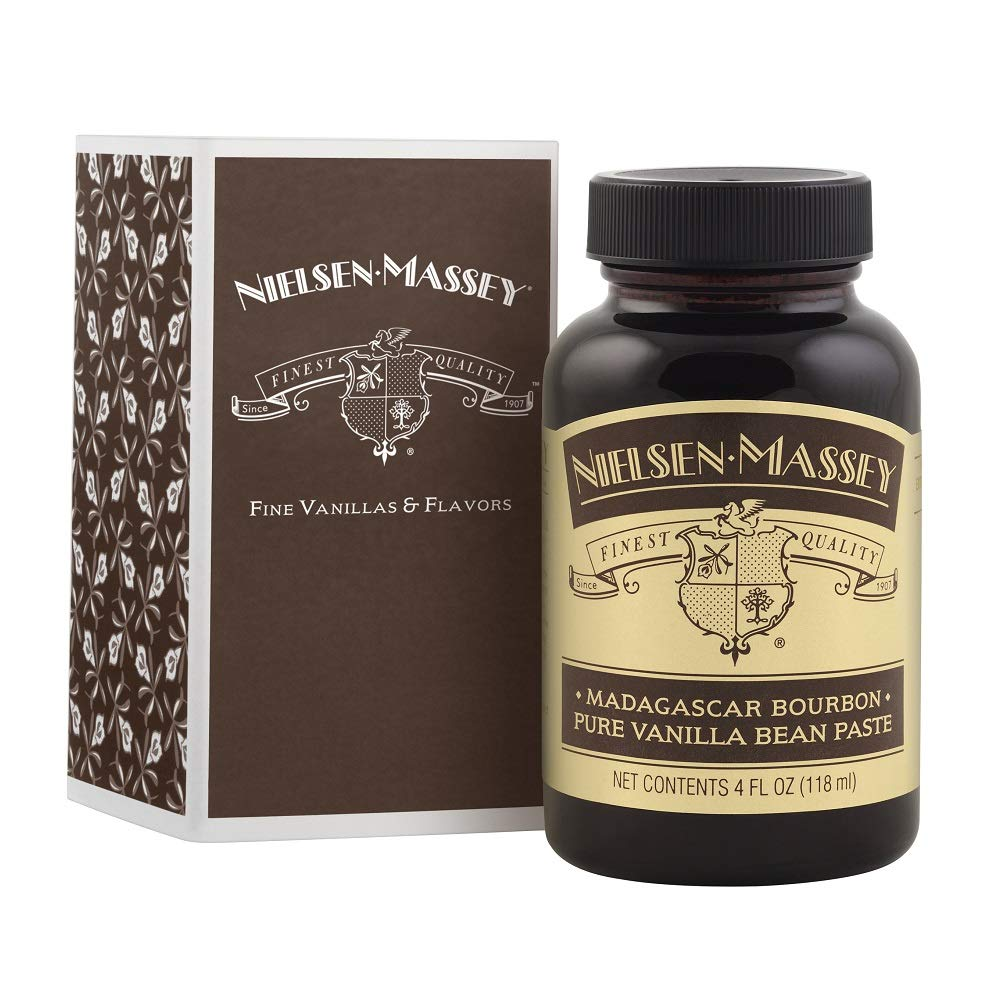 Nielsen-Massey Madagascar Bourbon Pure Vanilla Bean Paste, with Gift Box, 4 oz by Nielsen-Massey