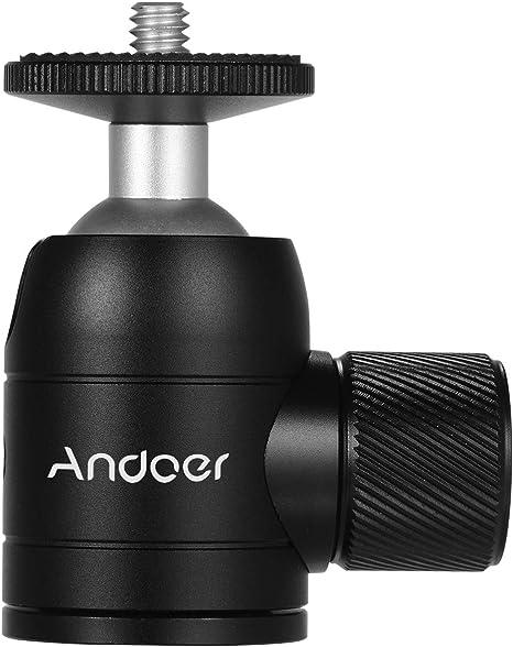 Mini Trípode con bloqueo de cabezal giratorio Adecuado para cámaras digitales