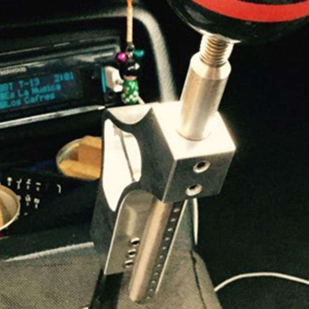 Auto Extender Shifter Extension H/öhenverstellbare Hebelverl/ängerung Manueller Schaltknauf Auto Schaltknauf blAU