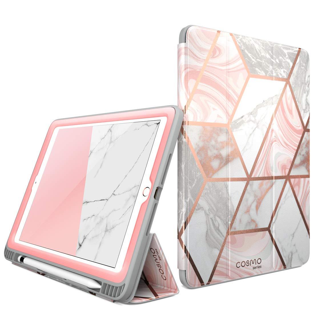 Funda Para Apple iPad 6 Generacion 9.7' - Marmolado Rosa