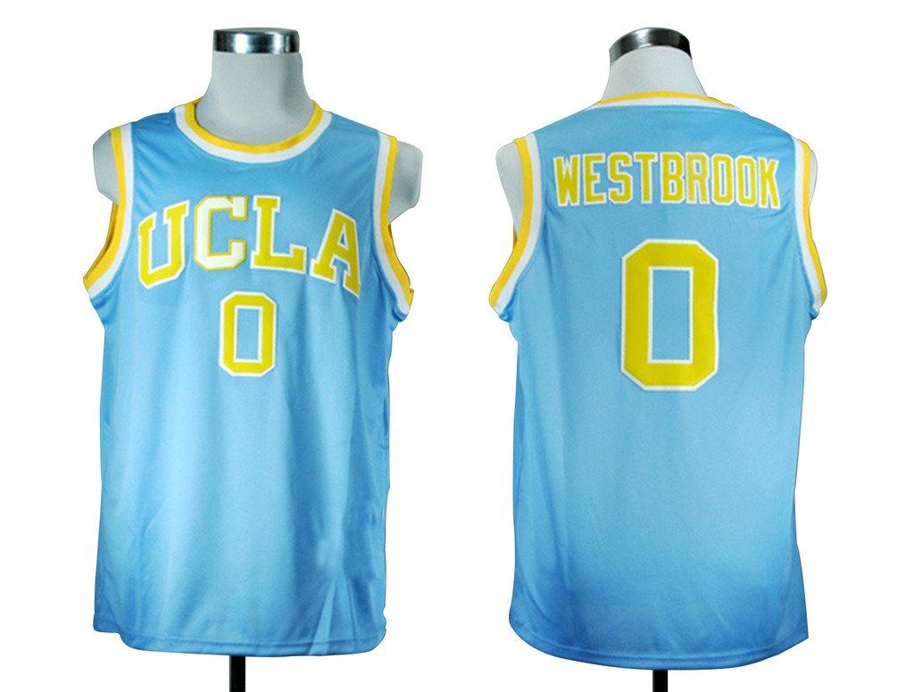 sports shoes 23e15 0b762 WEENKS Men's Russell Westbrook 0 UCLA Bruins College ...