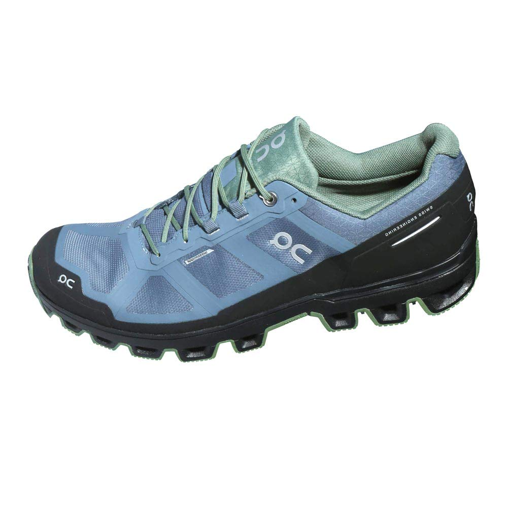On ShoesCLOUDVENTURE-WTF-MN - On Shoes, Cloudventure, Hombres, Impermeable, Gris Oscuro/Lavado (Storm/Wash) (12.99993) Hombre, Azul (Sellado/Kelp), 43 EU: Amazon.es: Zapatos y complementos