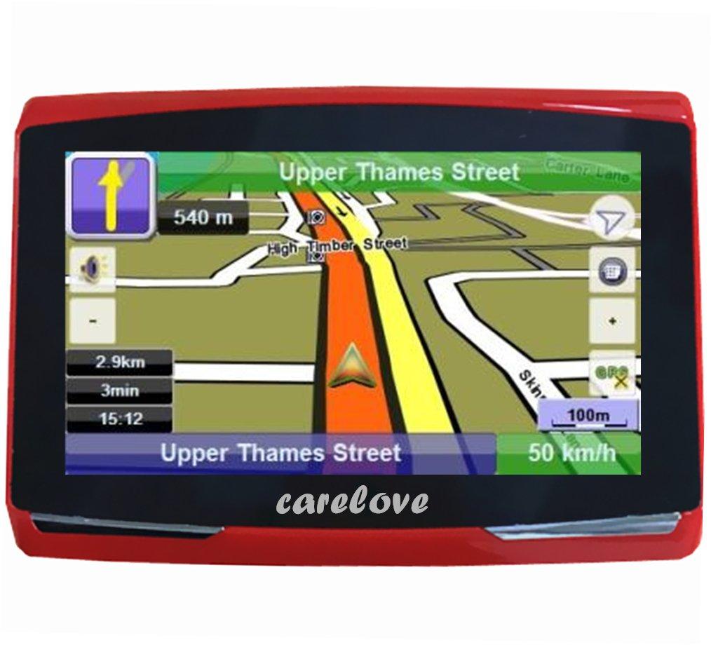 carelove 7 inch car gps windows ce 6 0 4gb hd screen. Black Bedroom Furniture Sets. Home Design Ideas