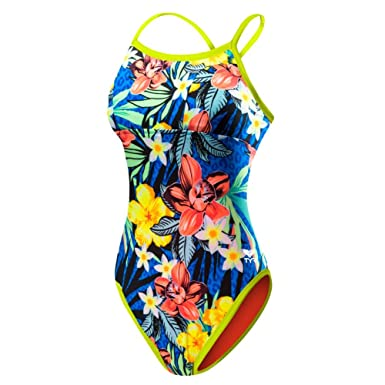 89586e4739a2e Image Unavailable. Image not available for. Color  TYR DRAM7A Womens  Amazonia Reversible Diamondfit Swimsuit ...