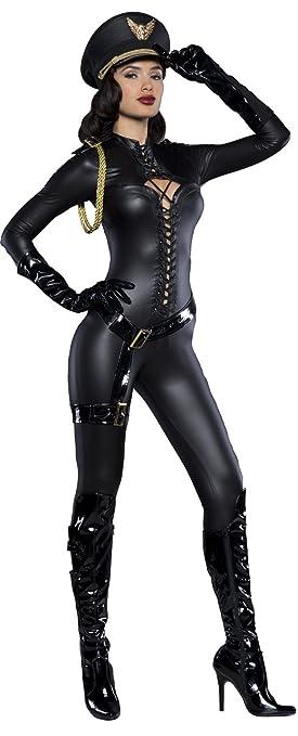 Disfraz capitana sexy mujer Premium: Amazon.es: Juguetes y ...
