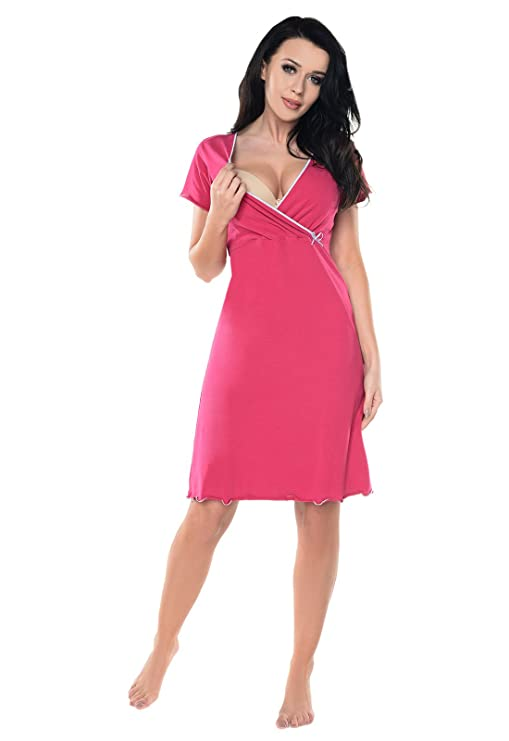 690cf20c49dba Purpless Maternity 2in1 Pregnancy and Nursing Nightdress for Pregnant and  Breastfeeding Women 1055n: Amazon.co.uk: Clothing