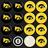 Imperial Billiards Iowa Hawkeyes Ncaa 8-Ball Billiard Set