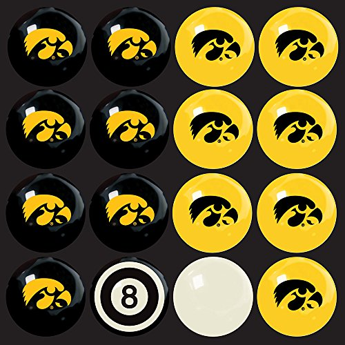 Imperial Billiards Iowa Hawkeyes Ncaa 8-Ball Billiard Set by Imperial