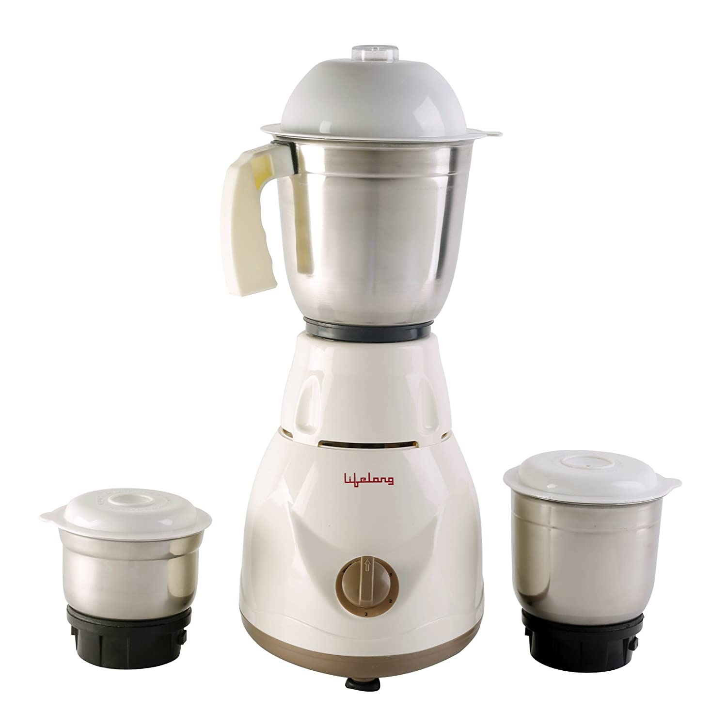 Lifelong Power Pro LLMG02 500-Watt Mixer Grinder with 3 Jars