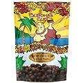 Chocolate Covered Coffee Beans by Buddha's Cup - Semi-Sweet Chocolate Covered Peaberry Coffee Beans - 100% Kona Coffee