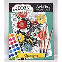 Adornit Artplay Coloring Book-Chamberry