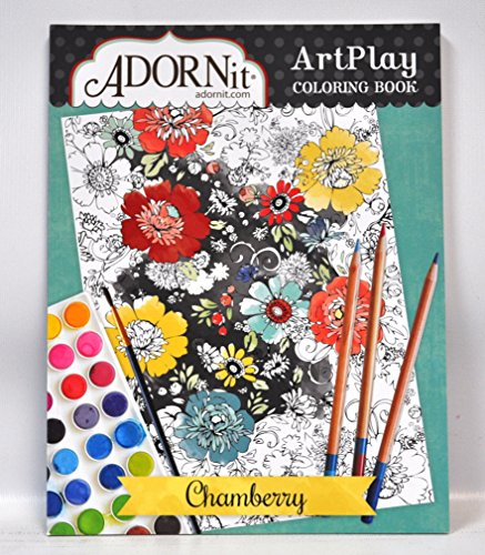 Adornit Artplay Coloring Book-Chamberry by Adorn-It
