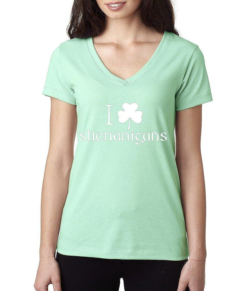 Vintage Irish Day I Clover Shenanigans T-Shirt Proud Irish Shamrock Shirts