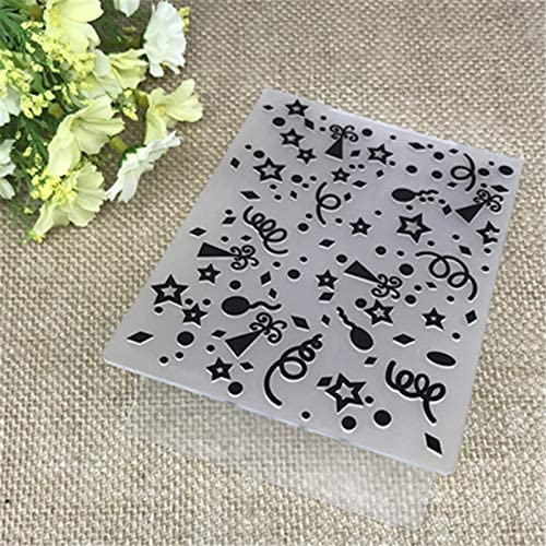 Amazon.com: Plastic Embossing Folder party holiday scrapbook album card gift packing decoration cutting dies paper craft