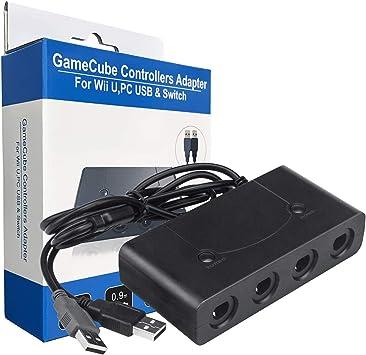 Beinhome - Adaptador de Mando para Nintendo Switch, Wii U y PC USB ...