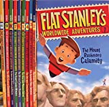 img - for Flat Stanley's Worldwide Adventures #1-#10 Pack: Intrepid Canadian Expedition, Amazing Mexican Secret, African Safari Discovery, Flying Chinese Wonders, Australian Boomerang Bonanza, US Capital Commotion, Showdown at the Alamo + Three More Titles book / textbook / text book