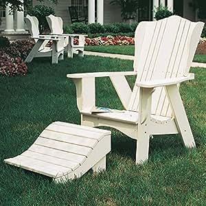 Uwharrie Chair Company Plantation Collection Adirondack - Pine - Tangerine