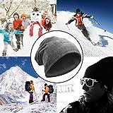 Komene Flannel Winter Hats for Men, Adjustable