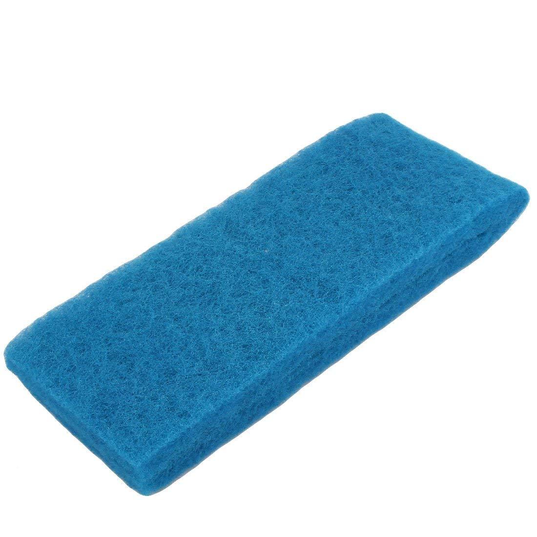 Aquarium Fish Tank Square Shape Reusable Biochemical Filter Sponge 2 Pcs bluee