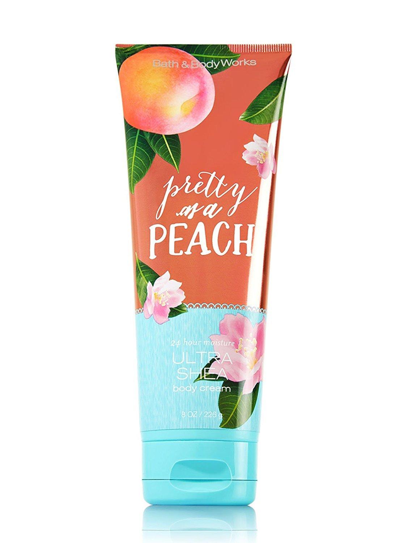 Bath and Body Works Ultra Shea Cream Pretty As A Peach 8 Ounce