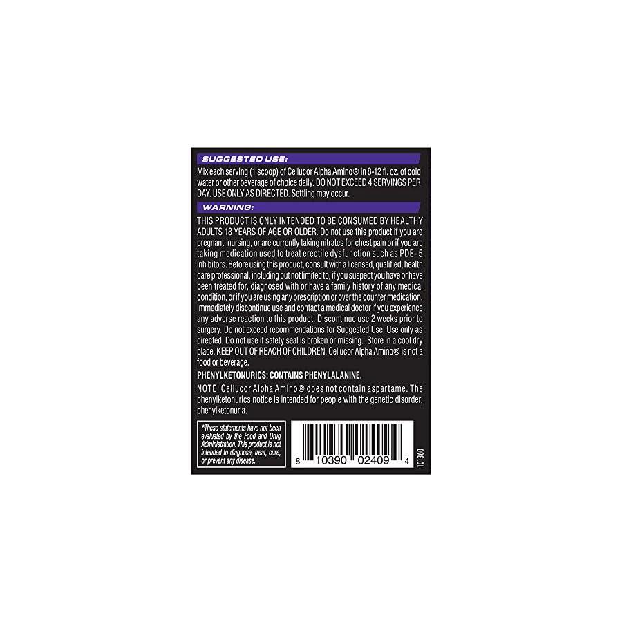 Cellucor Alpha Amino Supplements