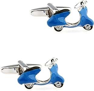 CIFIDET Gemelos Mancuernas Azules del Motor de la E-Motocicleta ...