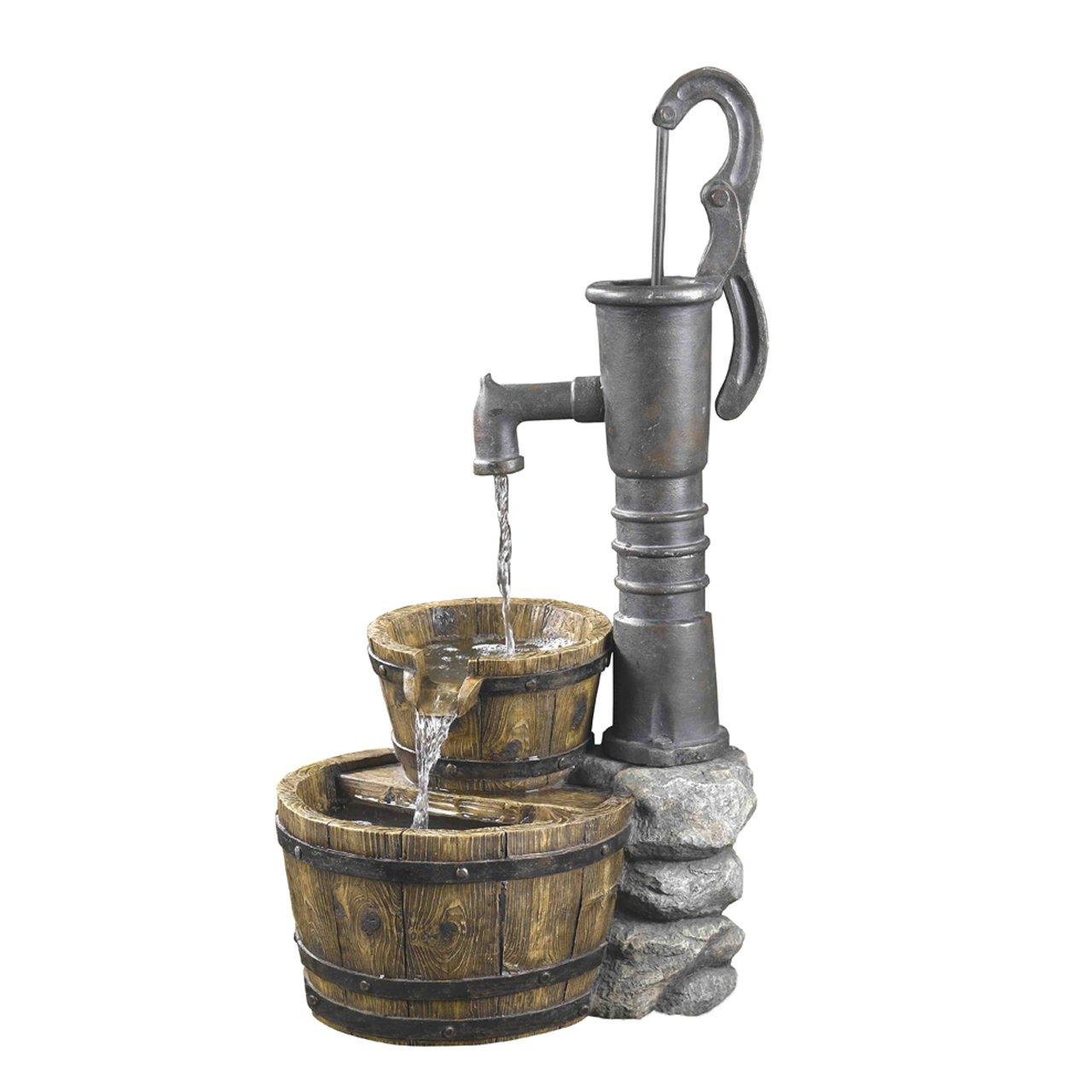 Delightful Amazon.com : Old Fashioned Pump Water Fountain : Free Standing Garden  Fountains : Garden U0026 Outdoor