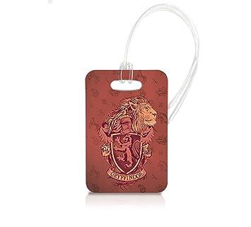Amazon.com: Harry Potter Gryffindor) Llavero Luggage Tag ...