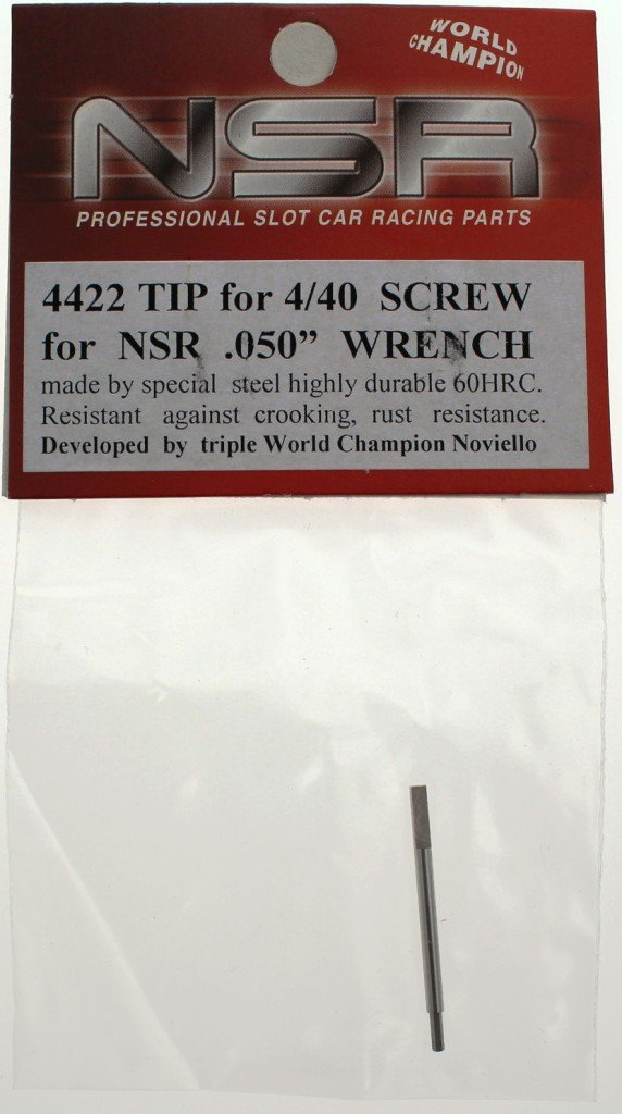 NSR Zubehör 804422 TIP for 4/40 Screw for NSR .050' Wrench