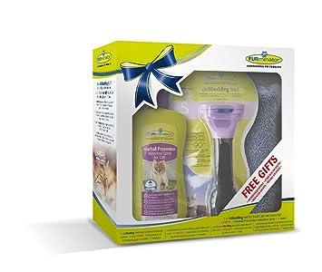FURminator deShedding Tool para gatos pequeños de pelo corto: Amazon ...