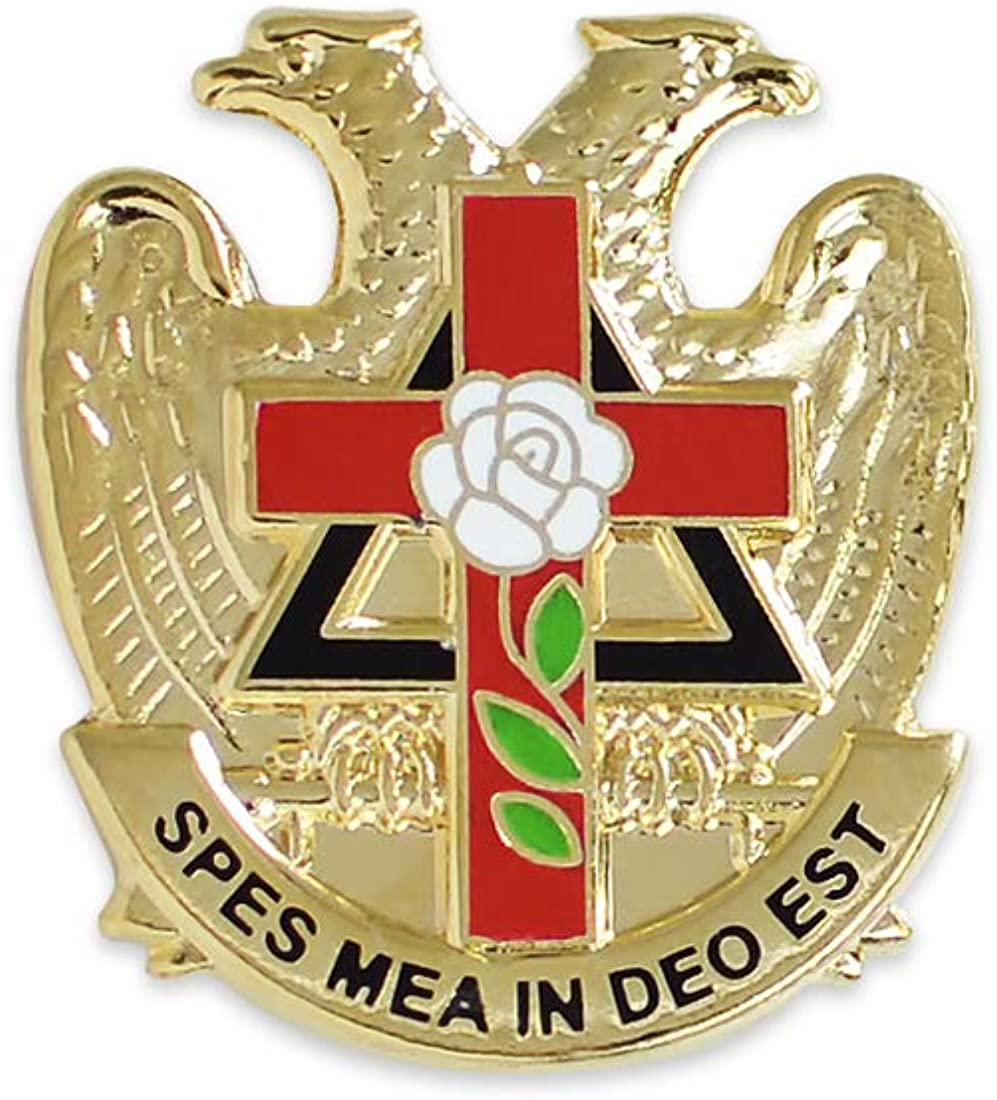 Cufflinks Masonic ~ Rose Croix ~ Cross Beautiful