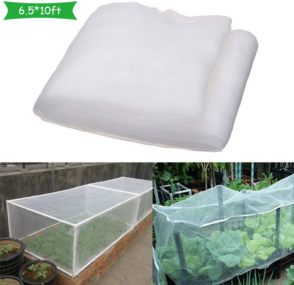JN Greenhouse Protective Net Fruit Vegetables Care Cover Insect Net Plant Covers Protection Net Garden Control Anti-Bird Mesh Net