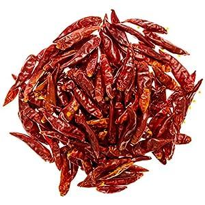 Soeos Hot Dried Chili,Capsicum Frutescens, 4oz (Mild)