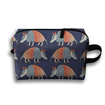 Amazon.com: so27tracvel Armadillo patrón bolsa de aseo Dopp ...