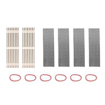 prettygood7 2 radiadores de disipación de Calor de Aluminio para M.2 NGFF SSD