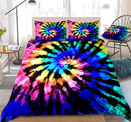 Tie Dyed Duvet Cover Set