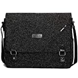 ibagbar Laptop Messenger Bags 14 Inch Computer Bags with Padded Sleeves Shoulder Bag