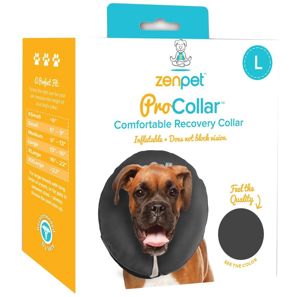 ZenPet Comfortable Recovery ProCollar - Large by Contech