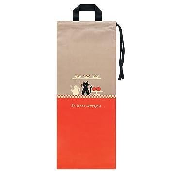 Derrière la porte DLP: bolsa para pan para colgar en algodón – Baquetas de conservación (buena compañía gato)