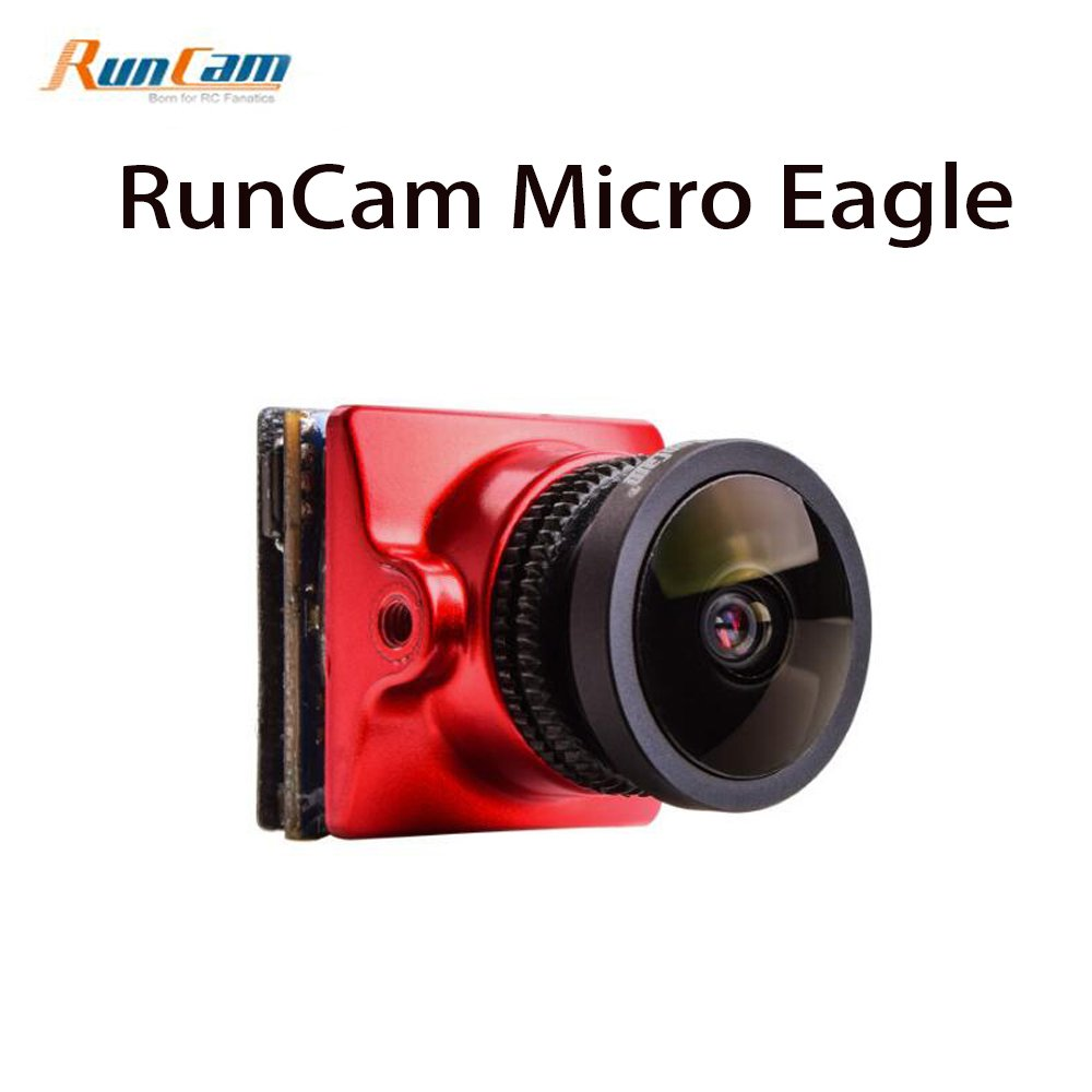 "RunCam Micro Eagle 800TVL FPV Camera 1/1.8"" CMOS Sensor NTSC / PAL 16:9 / 4:3 Switchable 5-36V for FPV Quadcopter Racing Drone"