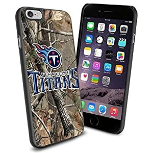 American Football NFL TENNESSEE TITANS Logo, Cool iPhone 6 plus Smartphone Case Cover Collector iphone TPU Rubber Case Black