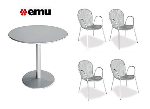 EMU Mesa para Exterior bistrot - diámetro de 80 cm ...
