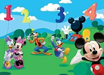 MICKEY MOUSE CLUBHOUSE Non Woven Photo Wallpaper Wall Mural Part 25