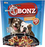 Purina Tbonz Brand Dog Snack Porterhouse Flavor 45 Oz Bags (Pack of 2) For Sale